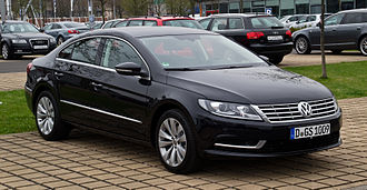 Volkswagen CC - Image: VW CC 2.0 TDI Blue Motion Technology (Facelift) – Frontansicht, 5. April 2012, Düsseldorf