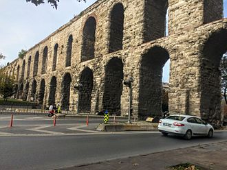 Fatih - The Valens Aqueduct in 2016