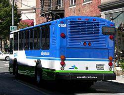Valley Metro bus in downtown Roanoke, Virginia.jpg
