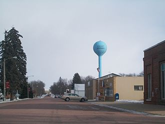 Valley Springs, South Dakota - Along Broadway Avenue