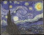 The Starry Night, June 1889 (The Museum of Modern Art, New York.