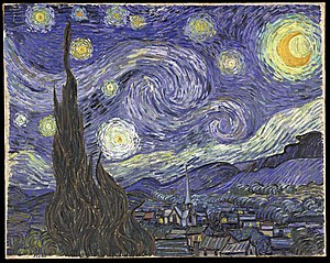 Copyfraud - Image: Van Gogh starry night
