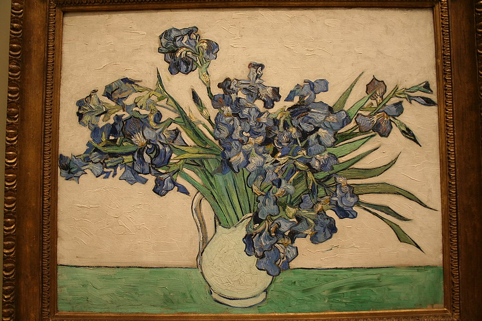 Van Gogh Irises in NYC partial