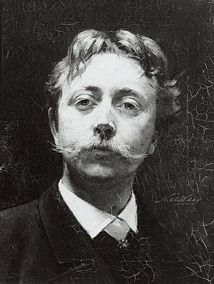 Nicolaas van der Waay - Image: Van der Waay Selfportrait