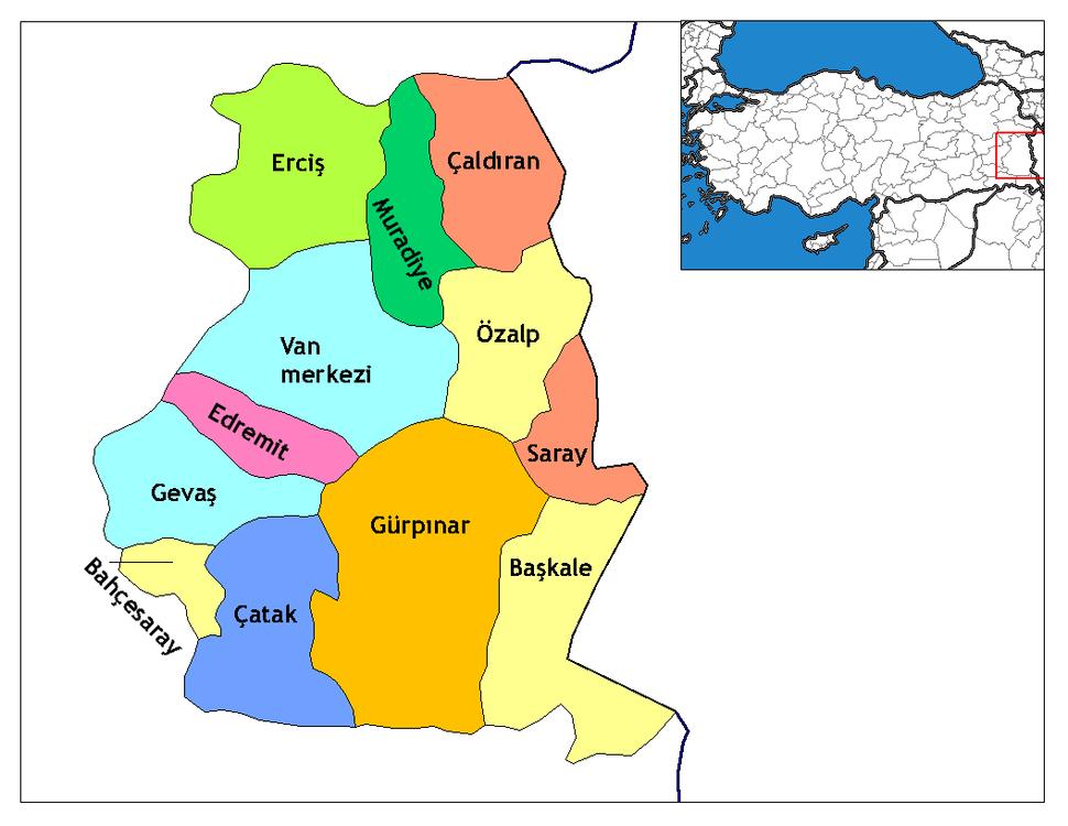 Van districts