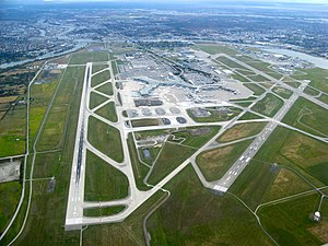 Final Destination (film) - Image: Vancouver International Airport Aerial