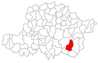 Vărădia de Mureș Commune in Arad, Romania