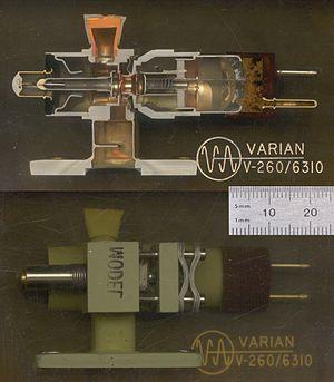 Varian Associates - A reflex klystron (1953)