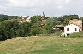 A general view of Vazeilles-Limandre