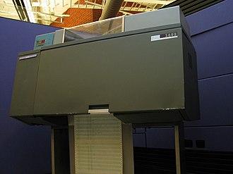 IBM 1403 - IBM 1403 at the Computer History Museum