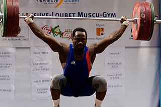 Vencelas Dabaya French weightlifter