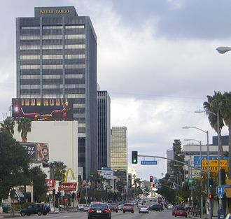 Ventura Boulevard - Ventura Boulevard in Encino
