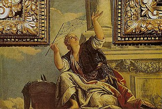 The Art of Being Right - Veronese, Paolo, Arachne or Dialectics, 1520