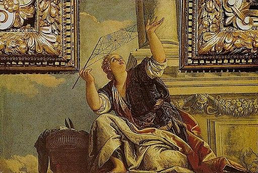 Veronese, Paolo - Arachne or Dialectics - 1520