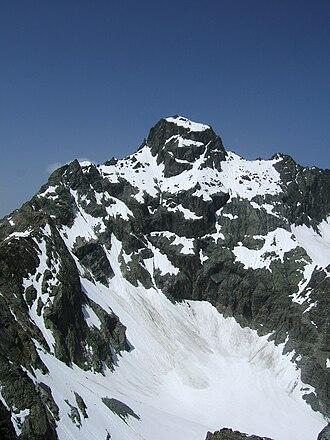 Verpeilspitze - Image: Verpeilspitze From Parstleswand
