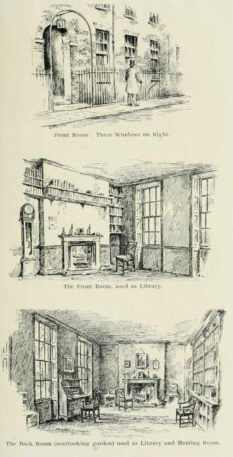 Medical and Chirurgical Society of London - Initial premises of the Society, 1805–1810, in 2 Verulam Buildings, Gray's Inn.