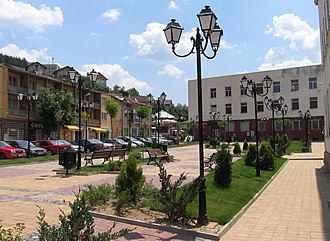 Tran, Bulgaria - Image: Vew from Tran downtown