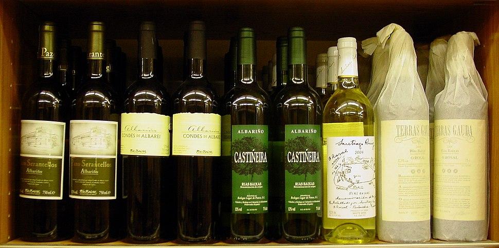 Viños galegos Albariño