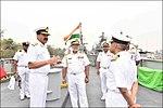 Vice Admiral Sirimevan Ranasinghe, Commander of Sri Lanka Navy visits ENC (3).jpg