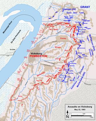 Siege of Vicksburg - Wikipedia