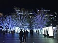 View in front of Hakata Station at night 20181112-2.jpg