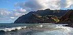 View of the eastern part of Porto da Cruz. Madeira, Portugal.jpg