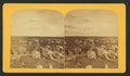 Views of Colorado Springs, from the cupola of the Public School building, looking east, by Gurnsey, B. H. (Byron H.), 1833-1880.png