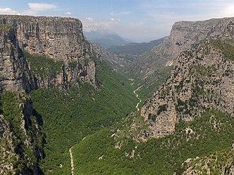 Epirus (region) - Vikos Gorge