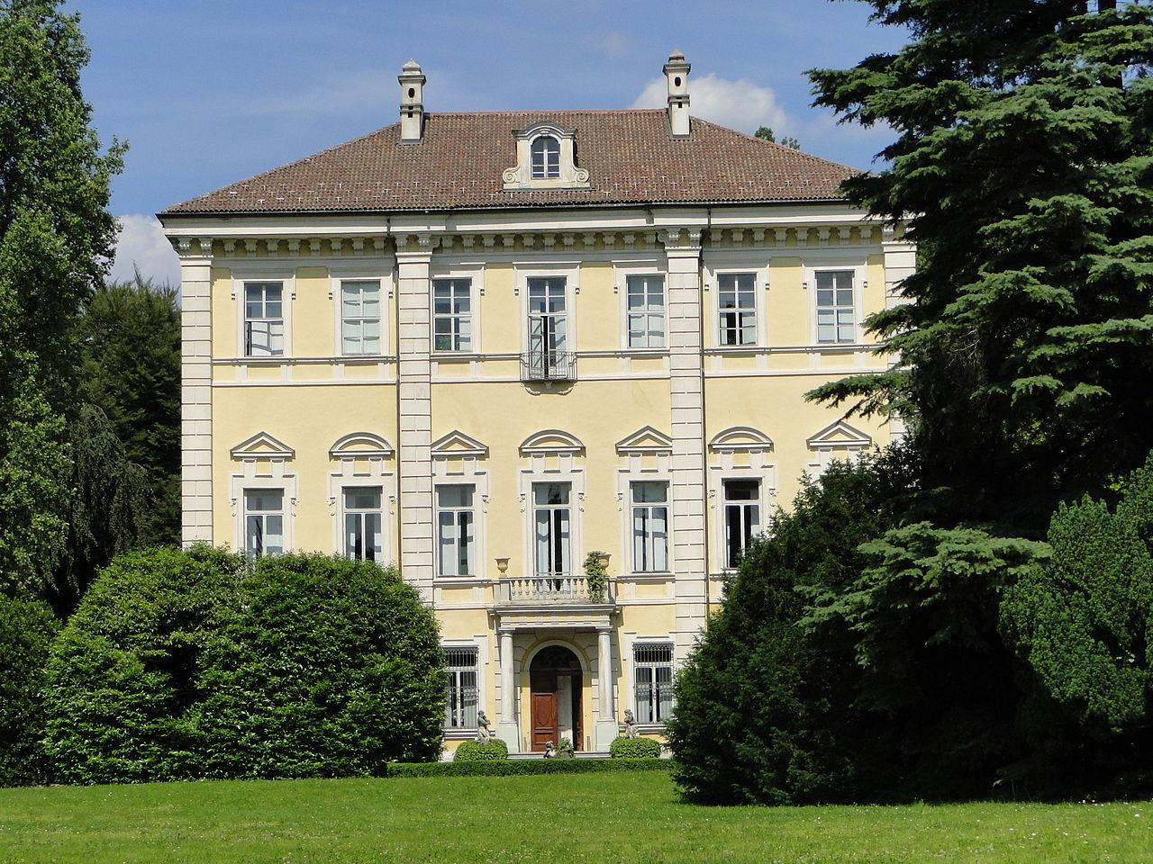 File villa abegg torino jpg wikimedia commons for Palazzo villa torino