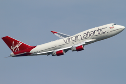 Boeing 747-400 der Virgin Atlantic Airways