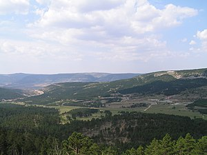 Maestrazgo, Aragon - Sierra de Gúdar landscape near Fortanete