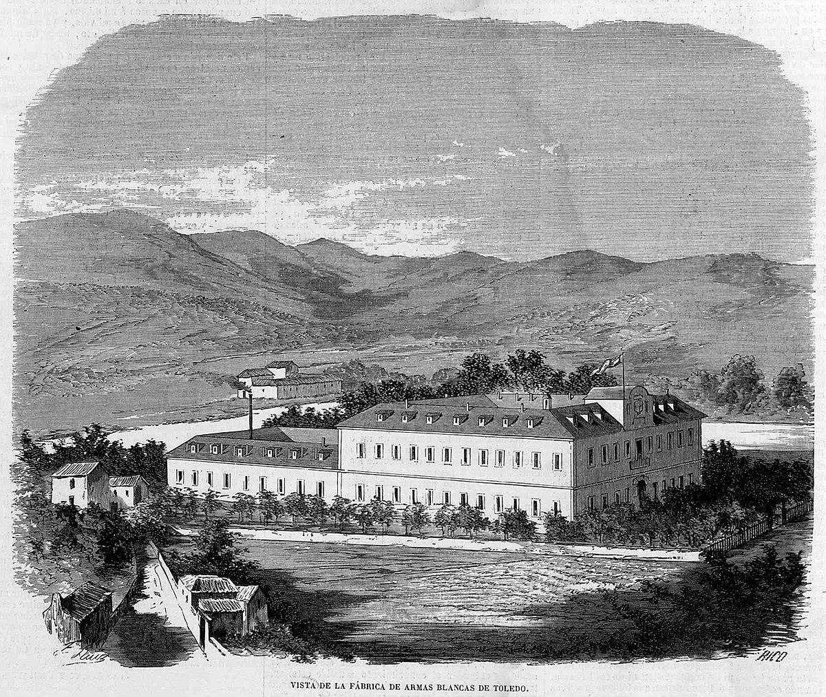 Fábrica de armas de Toledo - Wikipedia, la enciclopedia libre