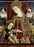 Vittore Crivelli - Madonna and Child - WGA05803.jpg