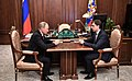 Vladimir Putin and Andrey Klychkov (2017-10-05).jpg