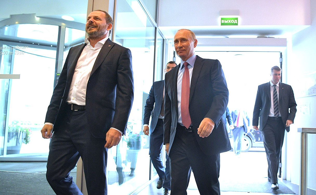 Vladimir Putin visited the Moscow office of Yandex (2017-09-21) 01.jpg