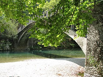 Voidomatis - Aristi Bridge on the Voidomatis