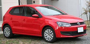 Volkswagen Polo Mk5 - Image: Volkswagen Polo 6R TSI Comfortline