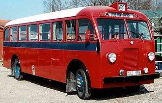 Volvo Buses - Image: Volvo B 10 Buss 1938