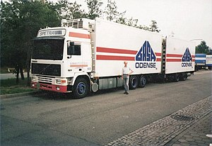 GASA - Truck with GASA logo in 1992.