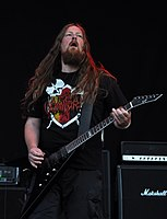 Vomitory, Urban Gustafsson at Party.San Metal Open Air 2013.jpg