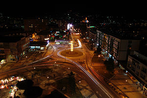Loznica - Panoramic view of Loznica
