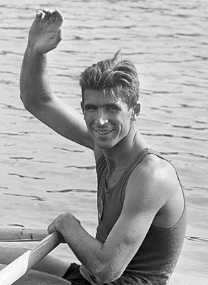 Vyacheslav Ivanov (rower) - Ivanov at the 1964 European Championships