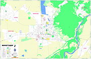 Vynohradiv Map