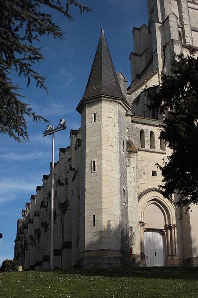 Tour-escalier de l'église Saint-Symphorien, Fr-49-Montjean-sur-Loire.