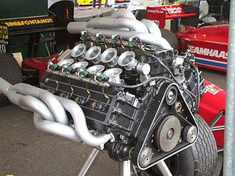 W12 engine - Life Racing Engines F35