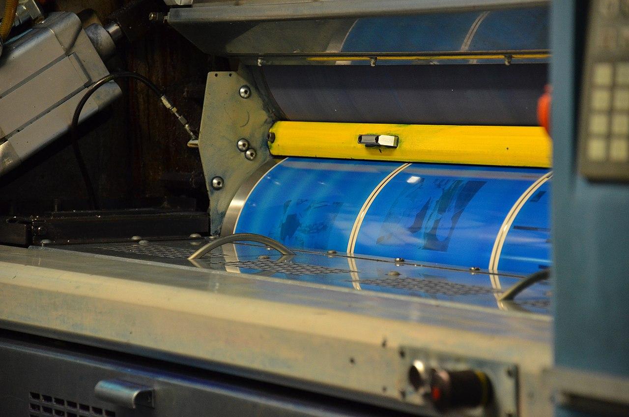 Blog Naturaleza educativa 1280px-WAZDruckhausEssen029 De la tradición oral y Gutenberg a la imprenta digital: evolución tecnológica de la impresión