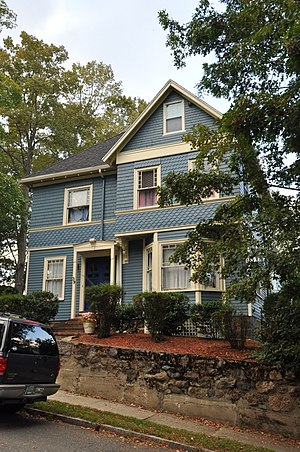 House at 39 Converse Street - Image: Wakefield MA 39Converse Street