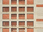 Wall of car park in Korolyov Moscow Oblast.jpg