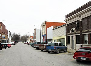 Wapello, Iowa - Downtown Wapello