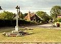 War Memorial at Little Hadham, Herts. - geograph.org.uk - 217317.jpg